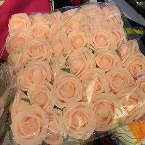 New pale pink Wedding Velvety Roses 36 or 26